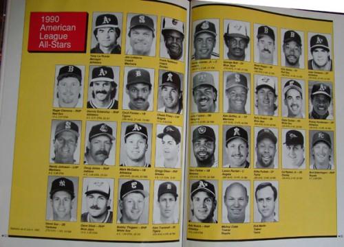 1990 AL All Stars