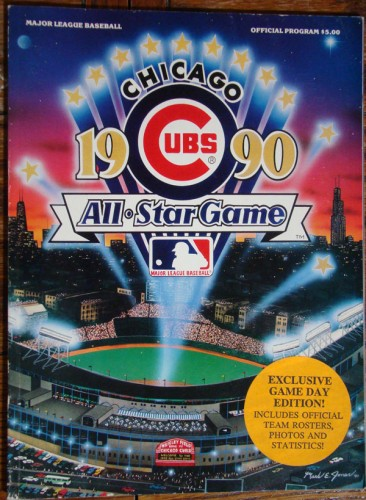 The official program of the 1990 ASG