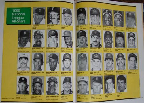1990 NL All Stars