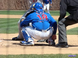 Geo Soto gets it done behind the plate