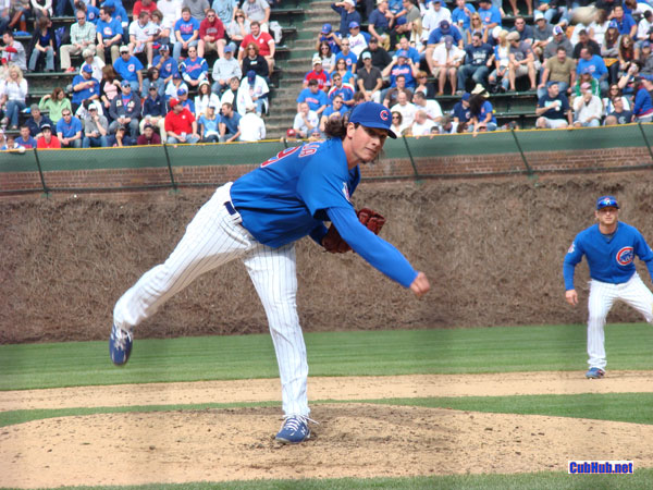 Chicago Cubs pitcher Jeff Samardzjia