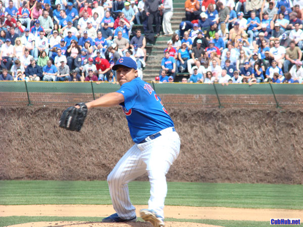 Carlos Zambrano at Wrigley Field