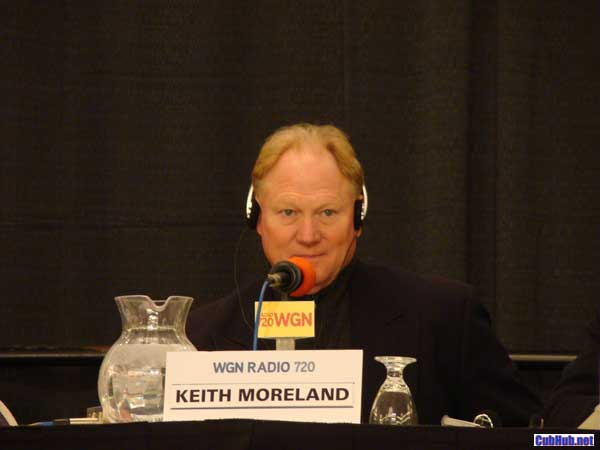 Keith Moreland on WGN Radio